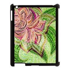 Colorful Design Acrylic Apple Ipad 3/4 Case (black)