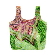 Colorful Design Acrylic Full Print Recycle Bags (m)