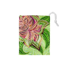 Colorful Design Acrylic Drawstring Pouches (small)