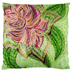 Colorful Design Acrylic Standard Flano Cushion Case (two Sides)