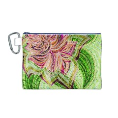 Colorful Design Acrylic Canvas Cosmetic Bag (m)