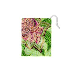 Colorful Design Acrylic Drawstring Pouches (xs)