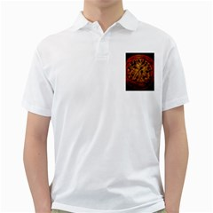 Light Picture Cotton Buds Golf Shirts