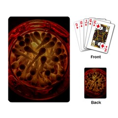 Light Picture Cotton Buds Playing Card