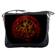 Light Picture Cotton Buds Messenger Bags