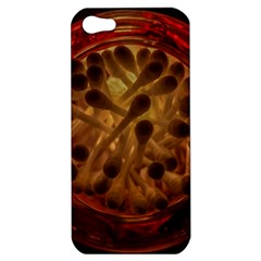 Light Picture Cotton Buds Apple Iphone 5 Hardshell Case