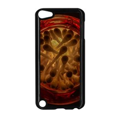 Light Picture Cotton Buds Apple Ipod Touch 5 Case (black)