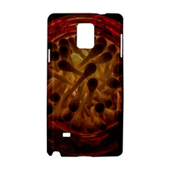 Light Picture Cotton Buds Samsung Galaxy Note 4 Hardshell Case
