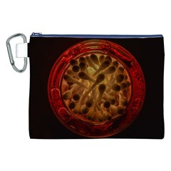 Light Picture Cotton Buds Canvas Cosmetic Bag (xxl)