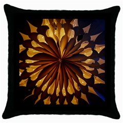 Light Star Lighting Lamp Throw Pillow Case (black)