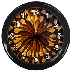 Light Star Lighting Lamp Wall Clocks (black)