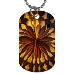Light Star Lighting Lamp Dog Tag (one Side)