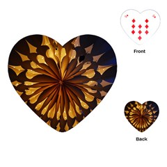 Light Star Lighting Lamp Playing Cards (heart)