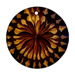 Light Star Lighting Lamp Round Ornament (two Sides)