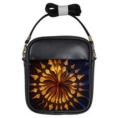 Light Star Lighting Lamp Girls Sling Bags