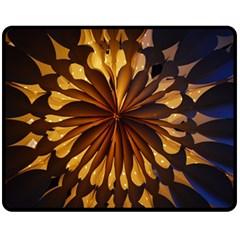Light Star Lighting Lamp Double Sided Fleece Blanket (medium)