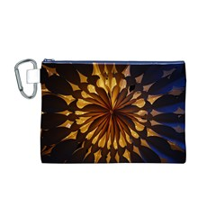 Light Star Lighting Lamp Canvas Cosmetic Bag (m)