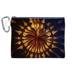 Light Star Lighting Lamp Canvas Cosmetic Bag (xl)