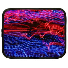 Lights Abstract Curves Long Exposure Netbook Case (xl)