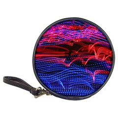 Lights Abstract Curves Long Exposure Classic 20 Cd Wallets