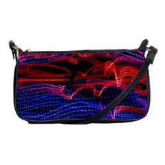 Lights Abstract Curves Long Exposure Shoulder Clutch Bags