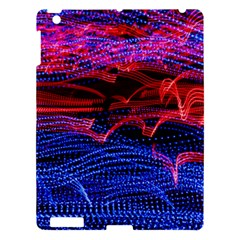 Lights Abstract Curves Long Exposure Apple Ipad 3/4 Hardshell Case