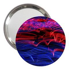 Lights Abstract Curves Long Exposure 3  Handbag Mirrors