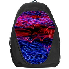 Lights Abstract Curves Long Exposure Backpack Bag