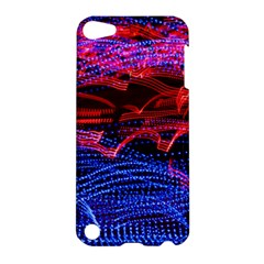 Lights Abstract Curves Long Exposure Apple Ipod Touch 5 Hardshell Case