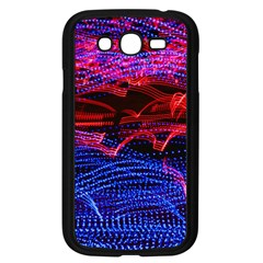 Lights Abstract Curves Long Exposure Samsung Galaxy Grand Duos I9082 Case (black)