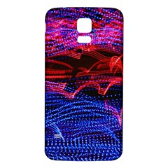 Lights Abstract Curves Long Exposure Samsung Galaxy S5 Back Case (white)