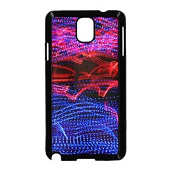 Lights Abstract Curves Long Exposure Samsung Galaxy Note 3 Neo Hardshell Case (black)