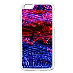 Lights Abstract Curves Long Exposure Apple Iphone 6 Plus/6s Plus Enamel White Case