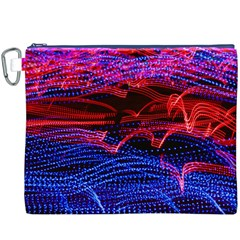 Lights Abstract Curves Long Exposure Canvas Cosmetic Bag (xxxl)