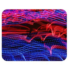 Lights Abstract Curves Long Exposure Double Sided Flano Blanket (medium)