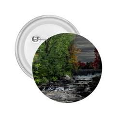 Landscape Summer Fall Colors Mill 2 25  Buttons