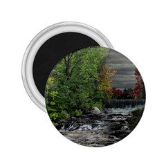 Landscape Summer Fall Colors Mill 2 25  Magnets
