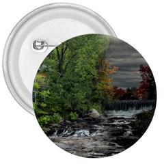Landscape Summer Fall Colors Mill 3  Buttons