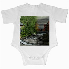 Landscape Summer Fall Colors Mill Infant Creepers