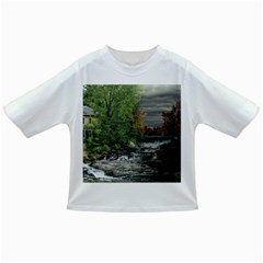 Landscape Summer Fall Colors Mill Infant/toddler T Shirts