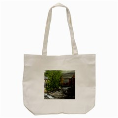 Landscape Summer Fall Colors Mill Tote Bag (cream)