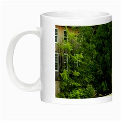 Landscape Summer Fall Colors Mill Night Luminous Mugs