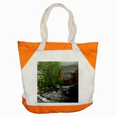 Landscape Summer Fall Colors Mill Accent Tote Bag