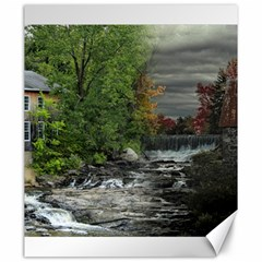 Landscape Summer Fall Colors Mill Canvas 20  X 24