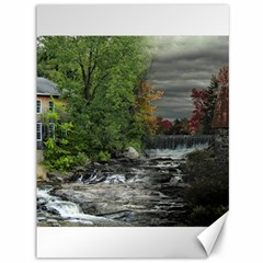 Landscape Summer Fall Colors Mill Canvas 36  X 48