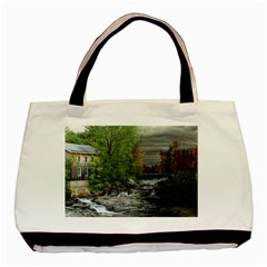 Landscape Summer Fall Colors Mill Basic Tote Bag (two Sides)