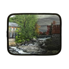 Landscape Summer Fall Colors Mill Netbook Case (small)