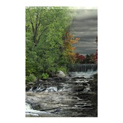 Landscape Summer Fall Colors Mill Shower Curtain 48  X 72  (small)