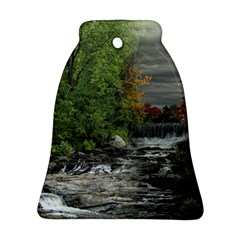 Landscape Summer Fall Colors Mill Bell Ornament (2 Sides)