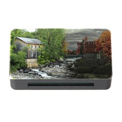 Landscape Summer Fall Colors Mill Memory Card Reader With Cf